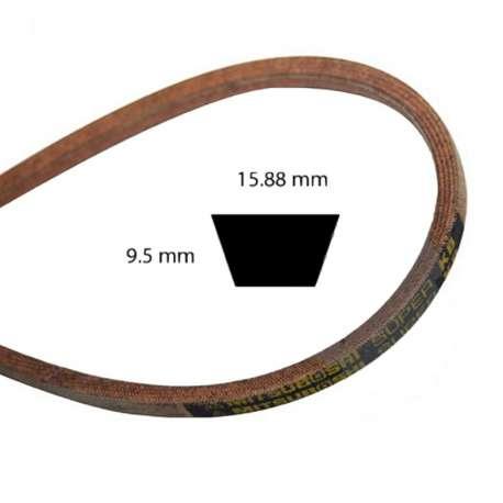 Courroie 5/8'' x 49'' Aramid